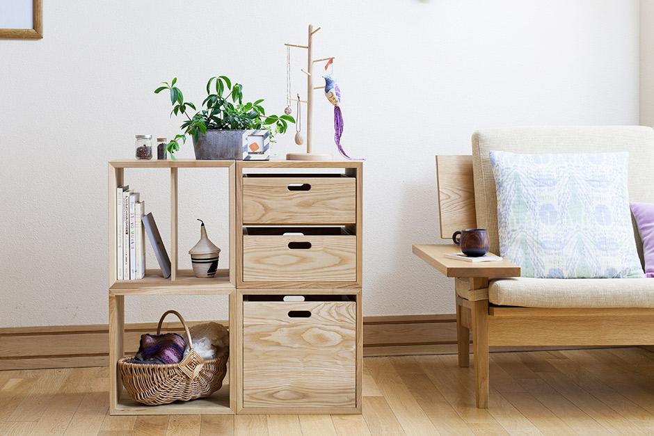 期間限定 日本の木と暮らす small furniture stationery 三省堂