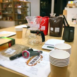 おふくわけカフェ初のコーヒー講座