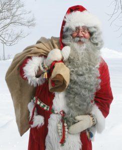 池袋本店3周年企画 クリスマス前にサンタクロースがやってきた!